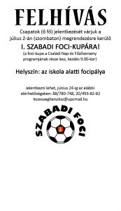 foci_felhívás